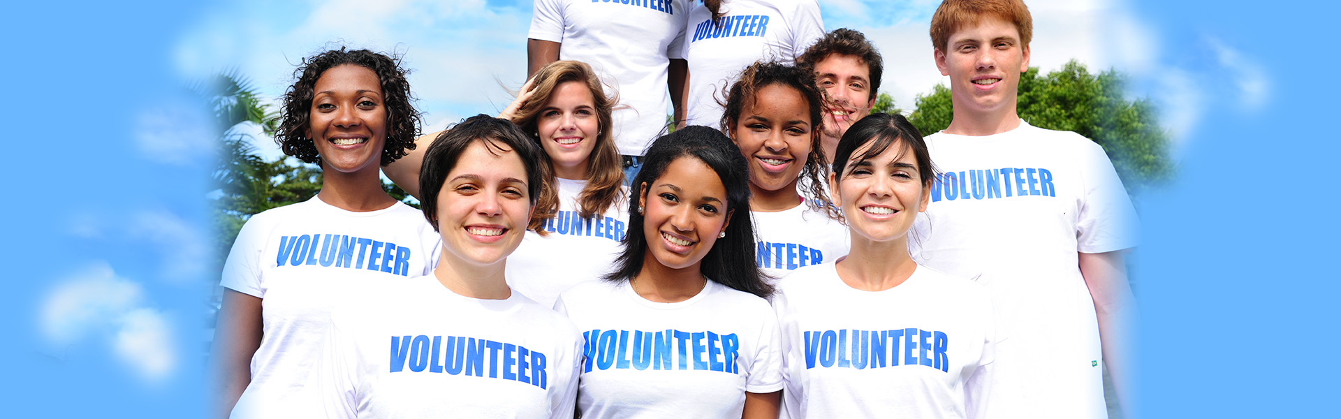 Group of Young Adults Volunteering