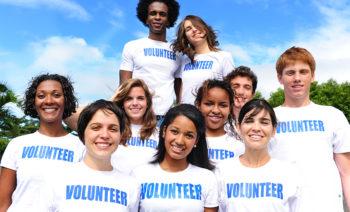Happ College Kids Volunteering